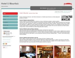 Hotel U Mauritzů ubytování Stožec 299ed221829