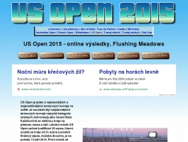 Zápasy US Open